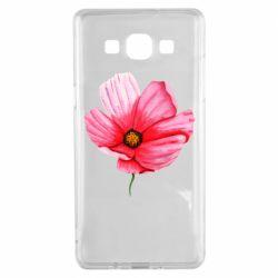 Чехол для Samsung A5 2015 Poppy flower