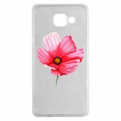 Чехол для Samsung A5 2016 Poppy flower