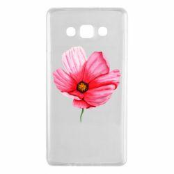 Чехол для Samsung A7 2015 Poppy flower