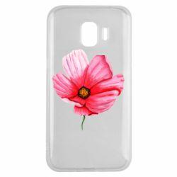 Чехол для Samsung J2 2018 Poppy flower