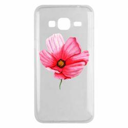 Чехол для Samsung J3 2016 Poppy flower