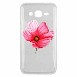 Чехол для Samsung J5 2015 Poppy flower