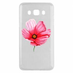 Чехол для Samsung J5 2016 Poppy flower