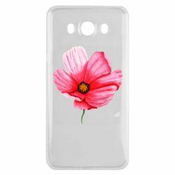 Чехол для Samsung J7 2016 Poppy flower