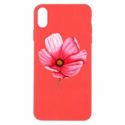 Чехол для iPhone Xs Max Poppy flower