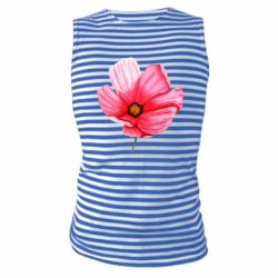 Майка-тельняшка Poppy flower