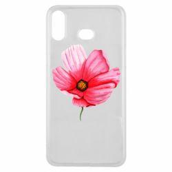 Чехол для Samsung A6s Poppy flower
