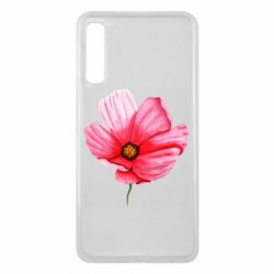 Чехол для Samsung A7 2018 Poppy flower