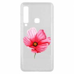 Чехол для Samsung A9 2018 Poppy flower