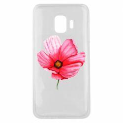 Чехол для Samsung J2 Core Poppy flower