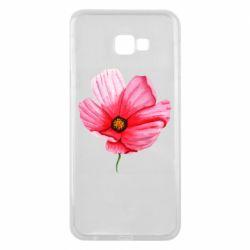 Чехол для Samsung J4 Plus 2018 Poppy flower