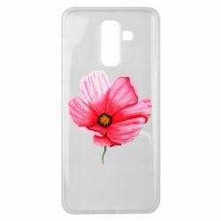 Чехол для Samsung J8 2018 Poppy flower