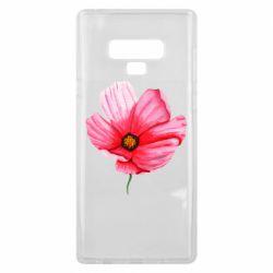 Чехол для Samsung Note 9 Poppy flower