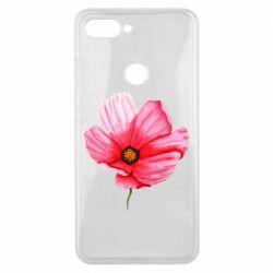 Чехол для Xiaomi Mi8 Lite Poppy flower