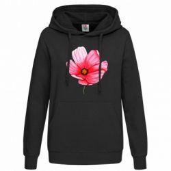 Женская толстовка Poppy flower