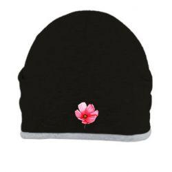 Шапка Poppy flower