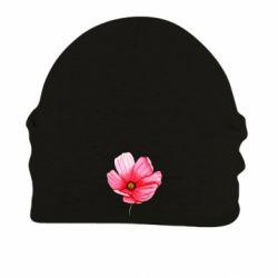 Шапка на флисе Poppy flower