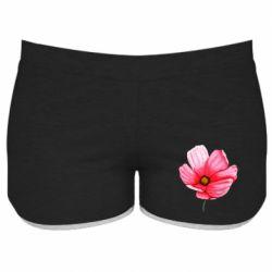 Женские шорты Poppy flower