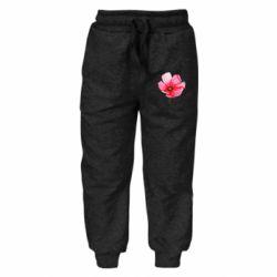 Детские штаны Poppy flower