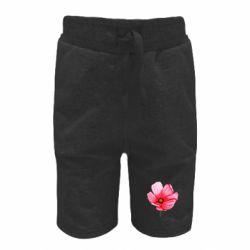 Детские шорты Poppy flower