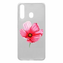Чехол для Samsung A60 Poppy flower