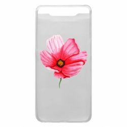 Чехол для Samsung A80 Poppy flower