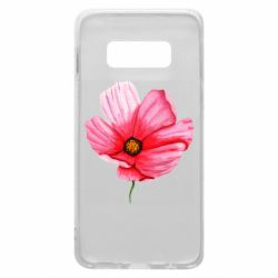 Чехол для Samsung S10e Poppy flower