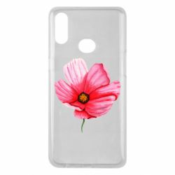 Чехол для Samsung A10s Poppy flower