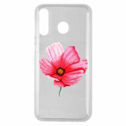 Чехол для Samsung M30 Poppy flower