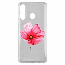 Чехол для Samsung M40 Poppy flower