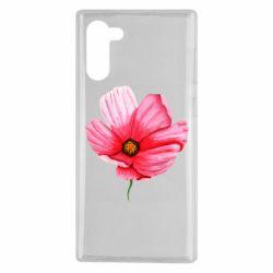 Чехол для Samsung Note 10 Poppy flower