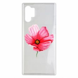 Чехол для Samsung Note 10 Plus Poppy flower