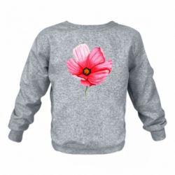 Детский реглан (свитшот) Poppy flower