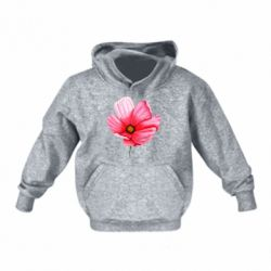 Детская толстовка Poppy flower
