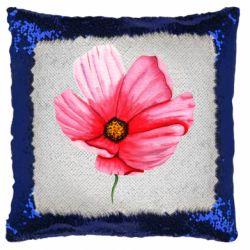 Подушка-хамелеон Poppy flower