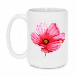 Кружка 420ml Poppy flower