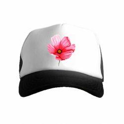 Детская кепка-тракер Poppy flower