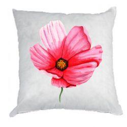 Подушка Poppy flower
