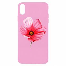 Чехол для iPhone X/Xs Poppy flower