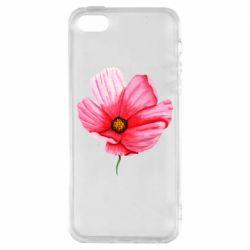 Чехол для iPhone5/5S/SE Poppy flower