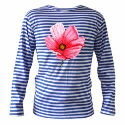 Тельняшка с длинным рукавом Poppy flower
