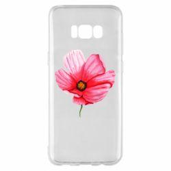 Чехол для Samsung S8+ Poppy flower