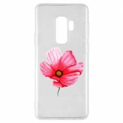 Чехол для Samsung S9+ Poppy flower