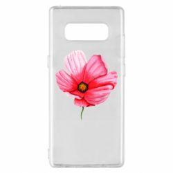 Чехол для Samsung Note 8 Poppy flower