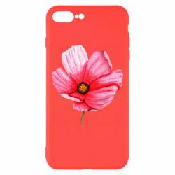 Чехол для iPhone 8 Plus Poppy flower