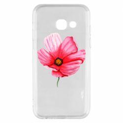 Чехол для Samsung A3 2017 Poppy flower