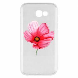 Чехол для Samsung A7 2017 Poppy flower