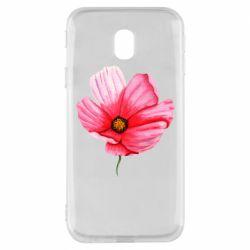 Чехол для Samsung J3 2017 Poppy flower