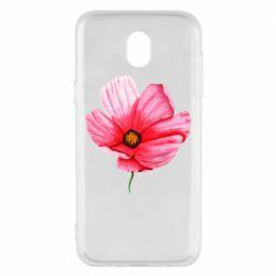Чехол для Samsung J5 2017 Poppy flower