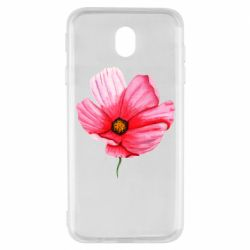 Чехол для Samsung J7 2017 Poppy flower